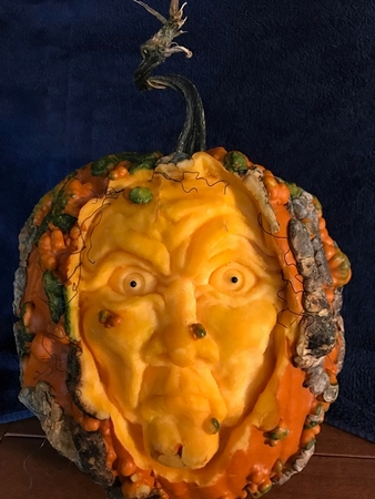 The Warty Witch Pumpkin