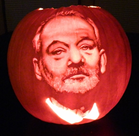 This Year's Bill Murray Pumpkin
