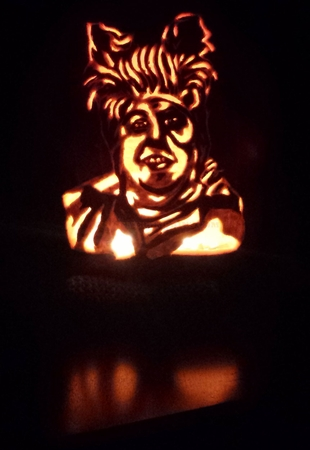 This Year's Random Celebrity Pumpkin - John Candy