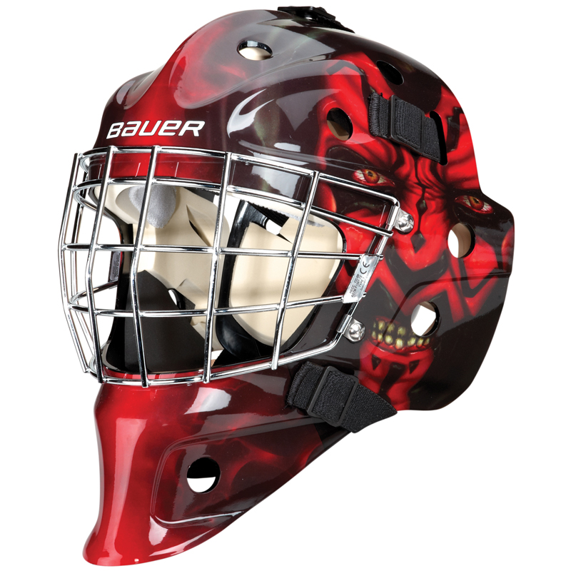 Bauer hockey youth for Bauer goalie mask template