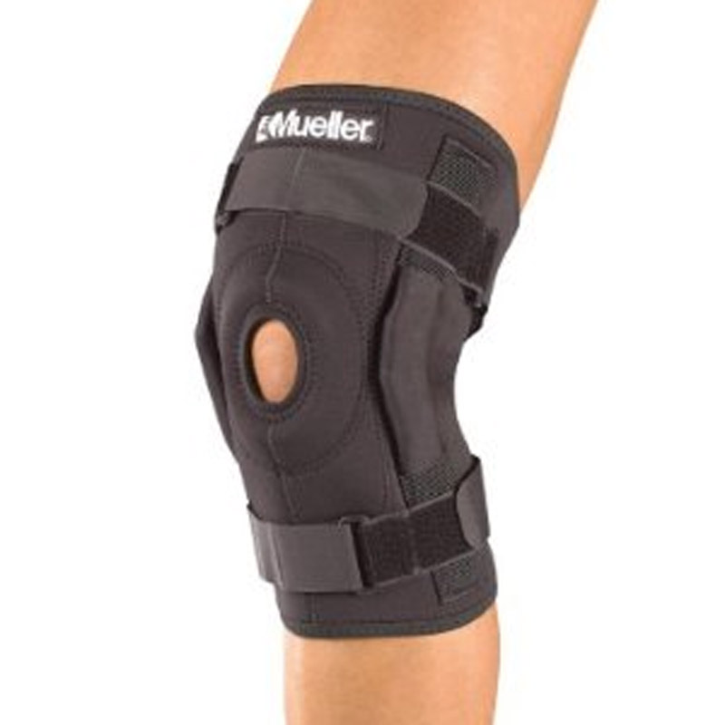Hinged Knee Brace : Mueller hinged knee brace