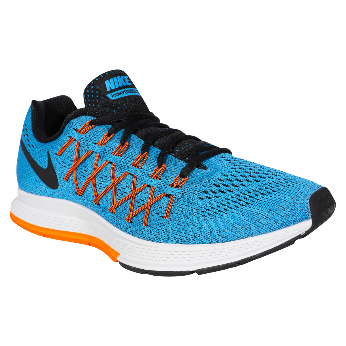 nike air zoom pegasus 32 men 39 s training shoes blue lagoon bright citrus black. Black Bedroom Furniture Sets. Home Design Ideas