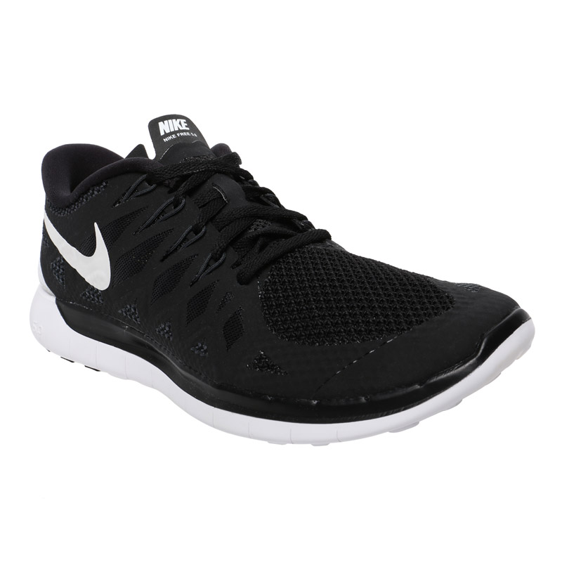 Nike Flex Run Women's Training Shoes - Black/White