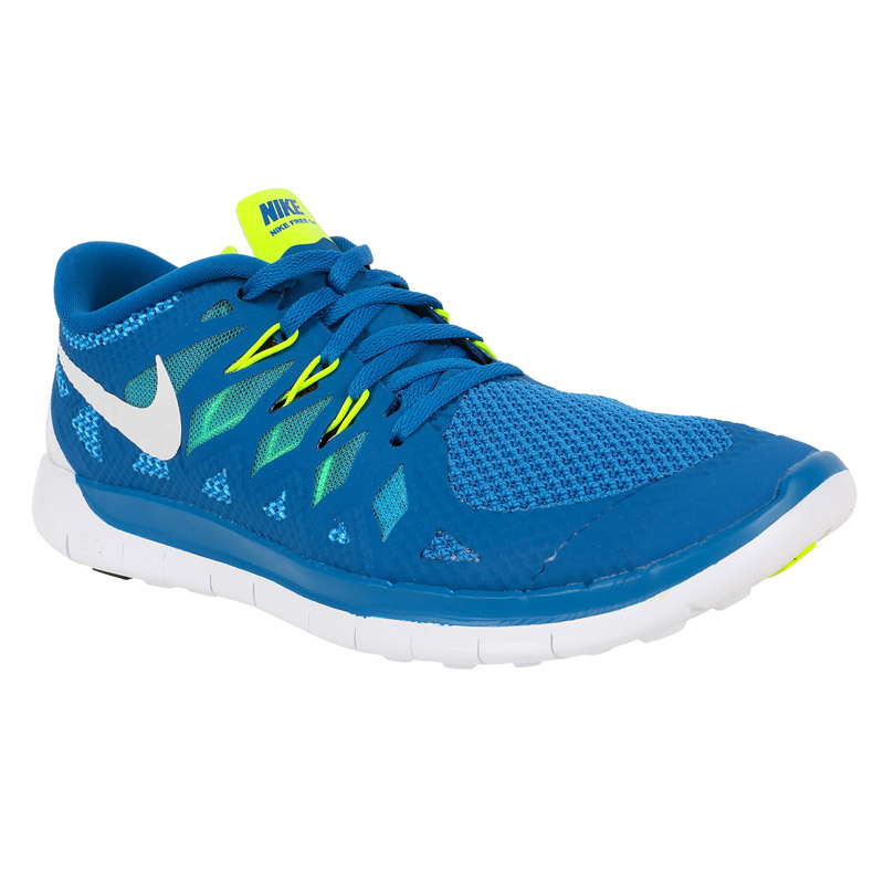 nike free 5 0 youth training shoes blue navy white. Black Bedroom Furniture Sets. Home Design Ideas