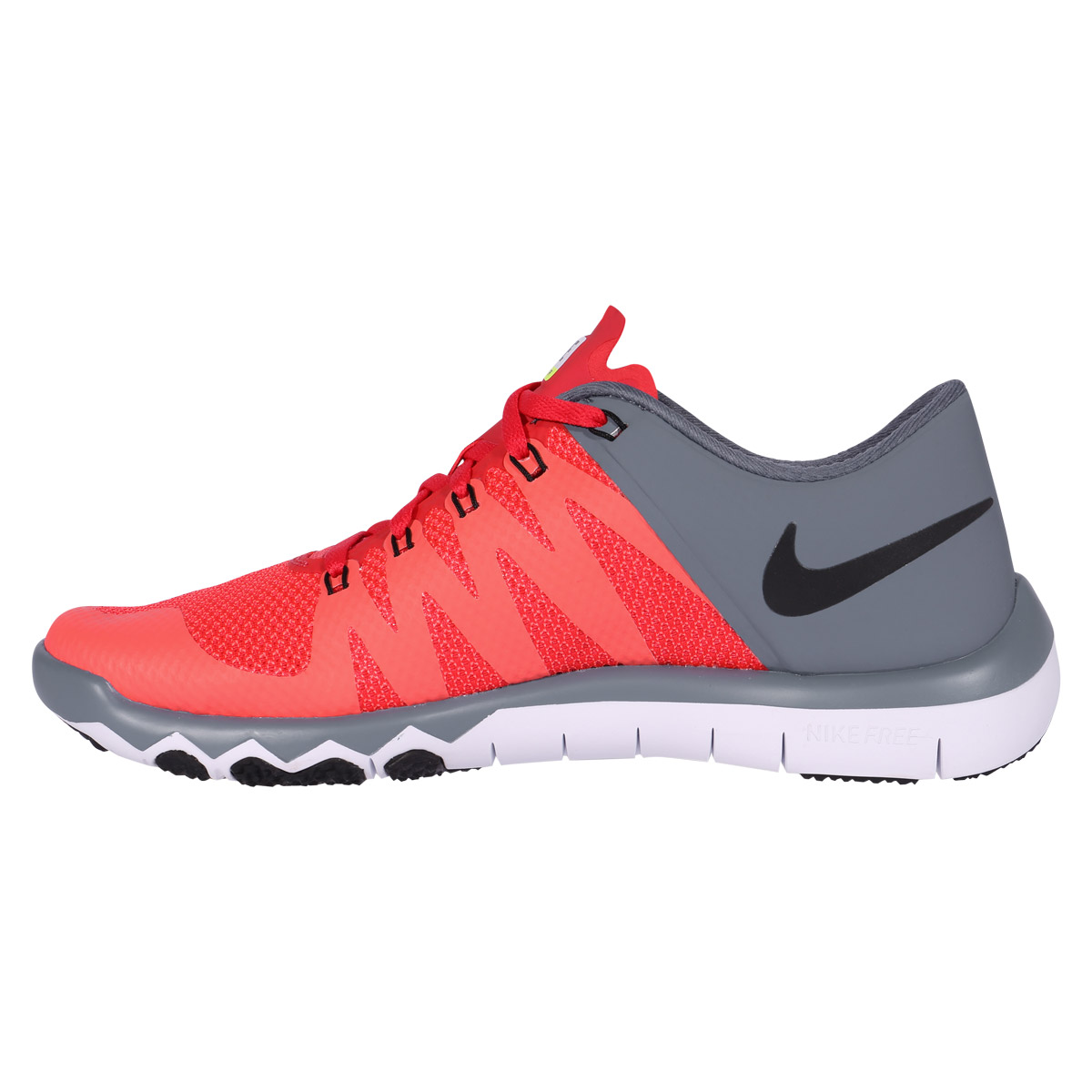 nike free trainer 5 0 v6 men 39 s training shoe darling red graphite black. Black Bedroom Furniture Sets. Home Design Ideas