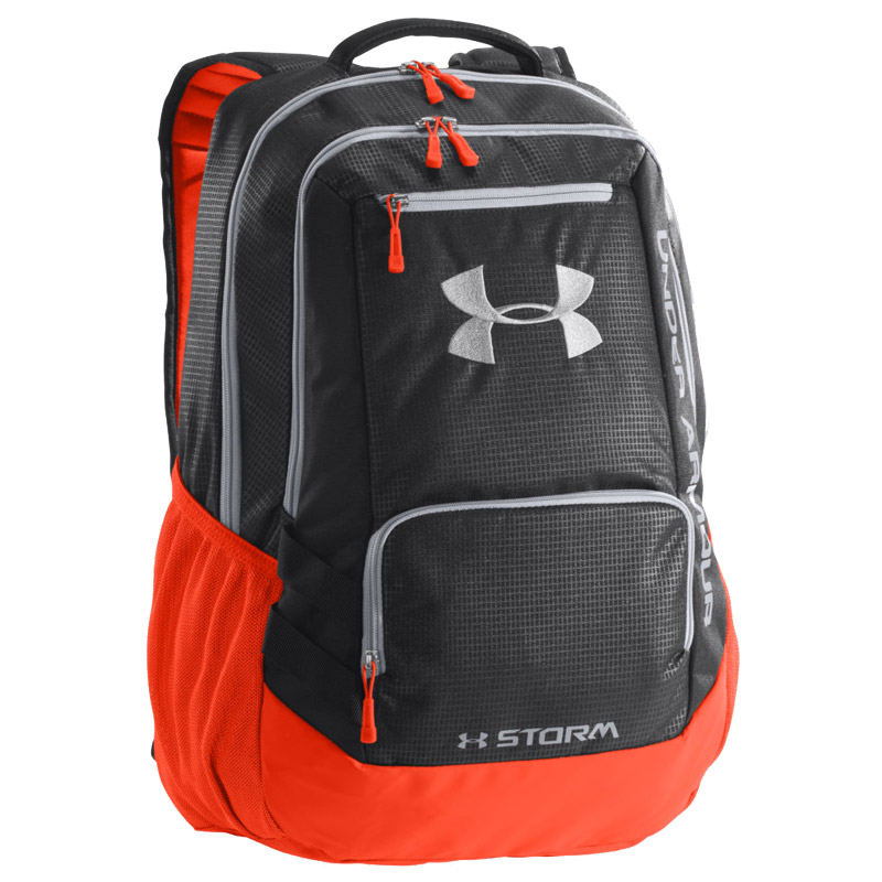 under armour hustle storm backpack. Black Bedroom Furniture Sets. Home Design Ideas