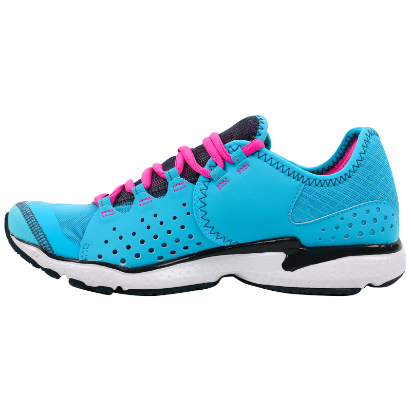 Girls Blue And Gray Under Armour Running Shoes