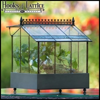 "10.5"" Wardian Terrarium with Opening Roof Panel"