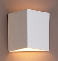 "10"" Angular Geometric Wall Sconce"