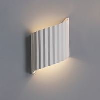 "10""  Contemporary Ribbon Wall Sconce w/ Accordion Detail"