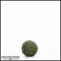 7in. Artificial Boxwood Topiary Ball- Indoor