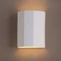 "10""  Three Fold Geometric Wall Sconce"