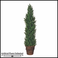 9' Outdoor Artificial Cypress