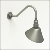 10in. Angle Shade Sign Light - 5 Arms to Choose From