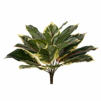11.5 Outdoor Artificial Rubber Plant/Bush