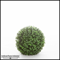 11in. Ornamental Boxwood Topiary Ball - Outdoor