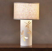 "12.5""  Dragonfly Dream Table Lamp"