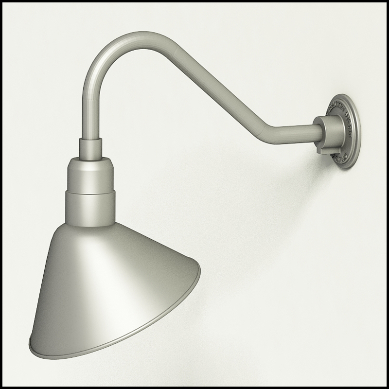 12 Angle Shade Gooseneck Lighting