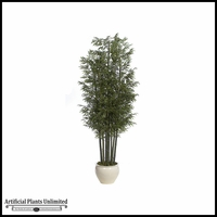 12' Bamboo Tree - Green|Indoor