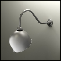 "12"" Domed Shade Gooseneck Lighting"
