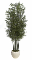 12' Fire Retardant Bamboo Trees - 9 Natural Canes