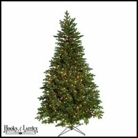 7.5 ft Sherwood Pre-Lit Fir Artificial Christmas Tree w/Warm White LED Lights