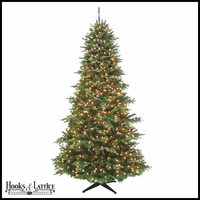 9 ft Jackson Pre-Lit Pine Artificial Christmas Tree w/ Clear LED Lights