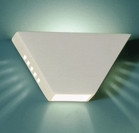 "12"" Open Ended Parallelogram Geometric Sconce"