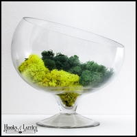 "12"" Slanted Bias Terrarium Bowl"