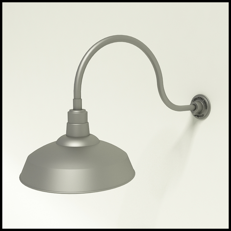 Warehouse Lighting, Commercial Warehouse Gooseneck