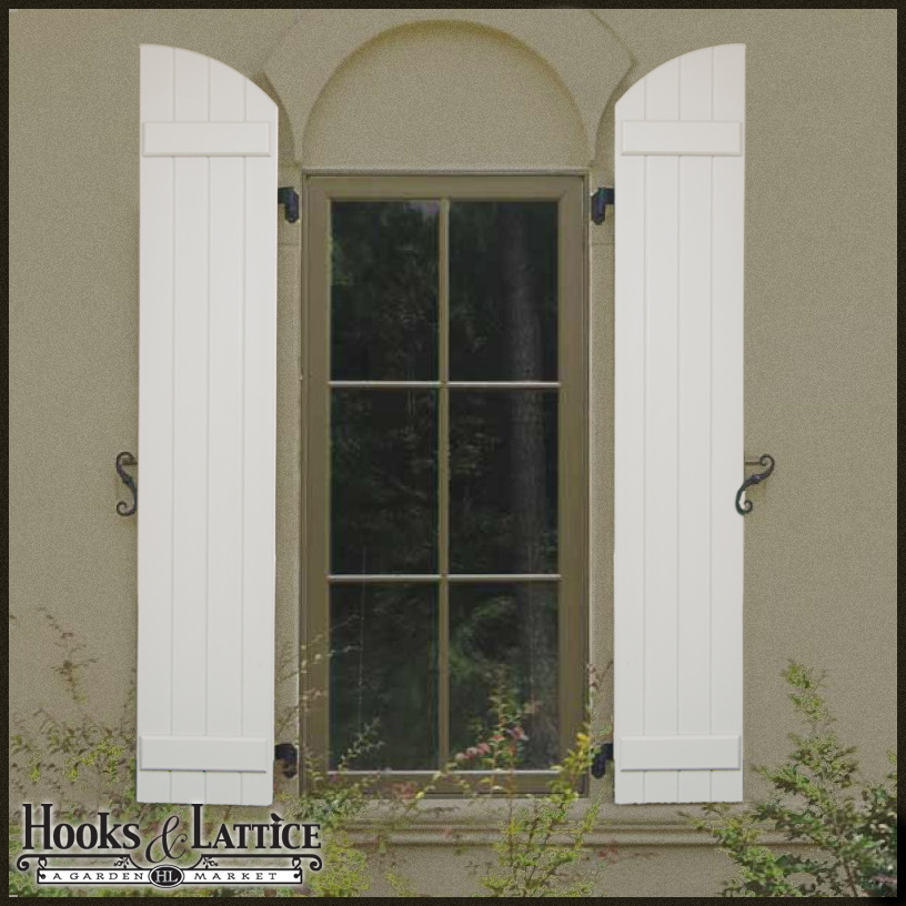 Board & Batten Arched Top - 12\