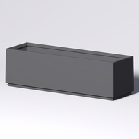 Marek Rectangle Planter 120in.L x 36in.W x 36in.H