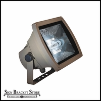 120v Medium Bronze Double-Ended HID Flood Fixture