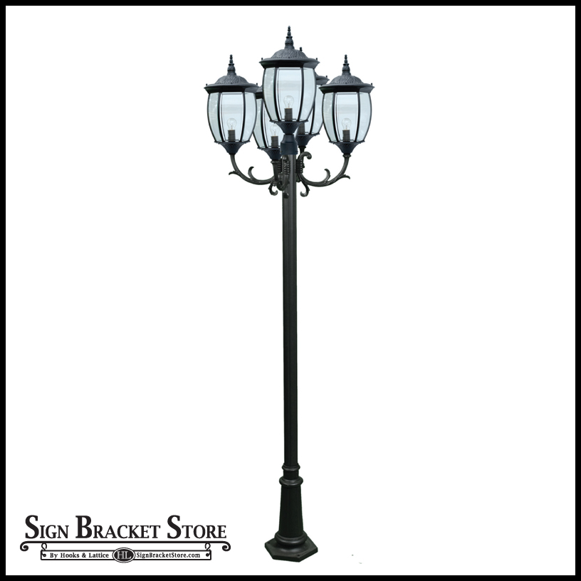 ... Victorian Outdoor Lamp Post Click To Enlarge