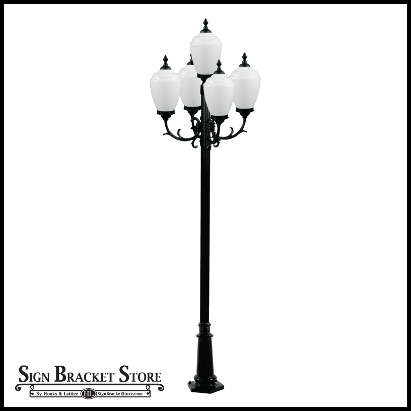 5 Lamp Post Light Fixture To Enlarge
