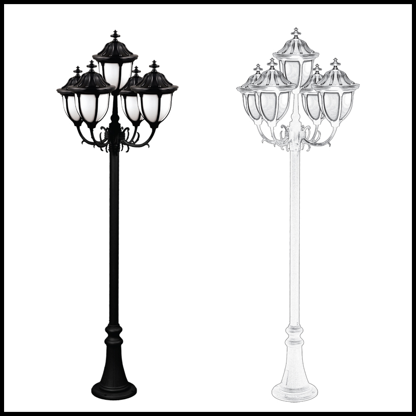 Outdoor lamp post massagroup outdoor post lighting home depot lamp led light bulbs solar powder coated cast aluminum time lights publicscrutiny Image collections