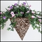 12in. Amalia Natual Cone Shaped Hanging Basket