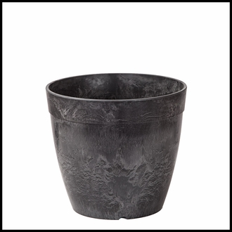 12in. Durante Round Flower Pot - 2 Colors