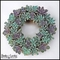 12in. Echeveria Living Succulent Wreath