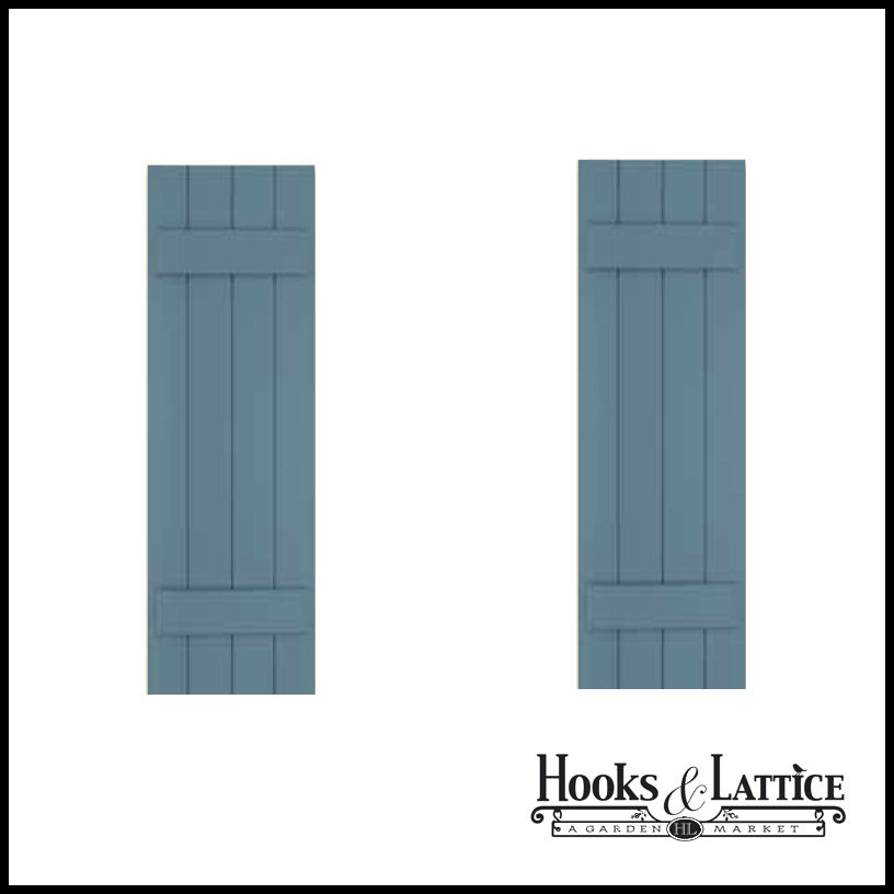 12 wide board and batten classic shutters hooks and lattice for 12 window shutters