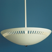 "13.5"" Bowl Ceiling Light w/ Light Window Border"