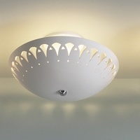"13.5"" Ceiling Light w/ Continuous Border Pattern"