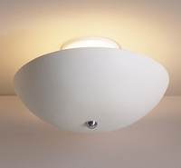 "13.5"" Ceramic Vessel Ceiling Light"