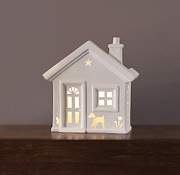 "13"" Home Sweet Home Ceramic Table Light"