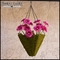 13in. Moss Pyramid Hanging Basket w/ Chain & Moss Ball Plug