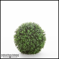 13in. Ornamental Boxwood Topiary Ball - Outdoor