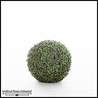 13in. Artificial Boxwood Topiary Ball - Indoor