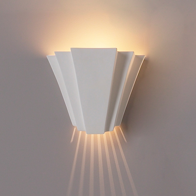 14 landmark geometric wall sconce click to enlarge aloadofball Image collections