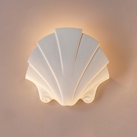 "14""  Seashell Themed Sconce"