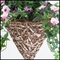 14in. Amalia Natual Cone Shaped Hanging Basket